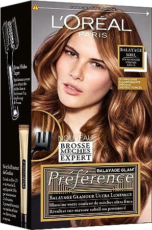Kit de mechas y reflejos para cabellos castaños, modelo ...