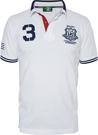 Beverly Hills Polo Club - Hombre Camiseta Regular fit Printed XXL ...