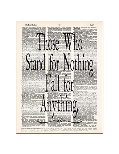 Amazoncom Those Who Stand For Nothing Fall For Anything Hamilton