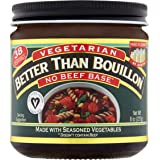 Better Than Bouillon Vegetarian No Beef Base, 8 oz.