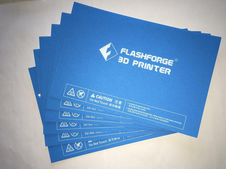 FlashForge HP-00057 - Juego de 6 adhesivos para plataforma ...