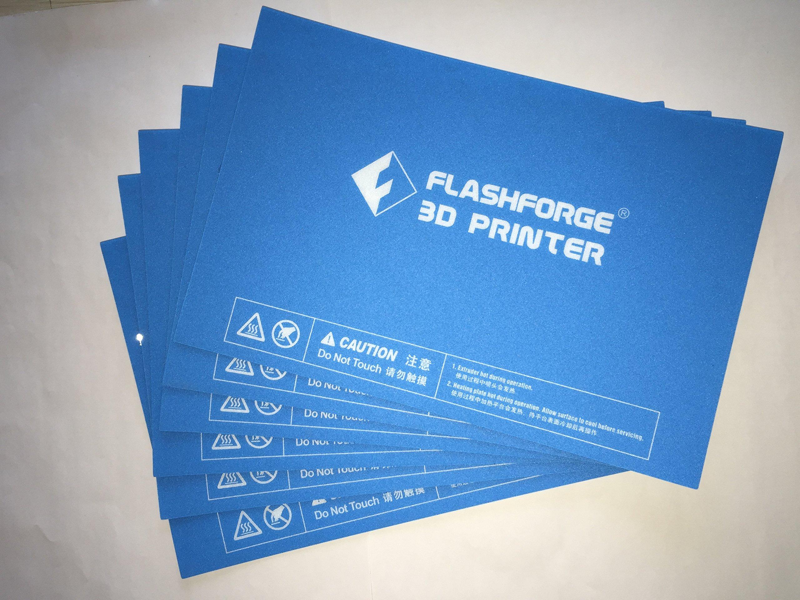 FlashForge HP-00057 Platform Sticker for Creator Pro and Dreamer, 6 Pcs Kit  (Pack of 6)