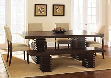 Steve Silver Company Briana Dining Table 42quotW X 60quot