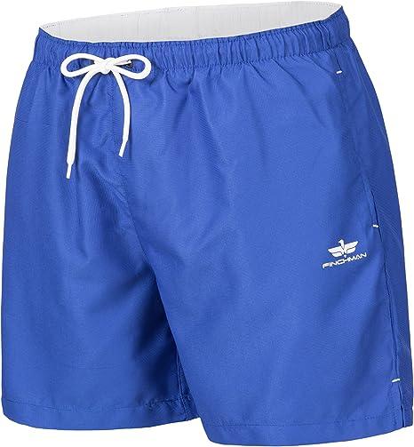 TALLA L. Finchman Pantalones Cortos de natación Traje de baño Shorts