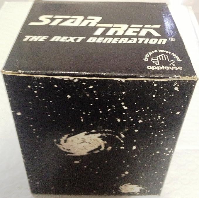 Vintage 1987 Star Trek Souvenir Cup Lieutenant Commander Data Lieutenant Geordi La Forge Counselor Deanna Troi ICEE Plastic Cup