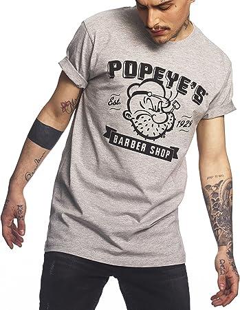 f611da48cc657 Popeye Herren T-Shirt Barbershop Tee - Oberteil mit Print vom ...
