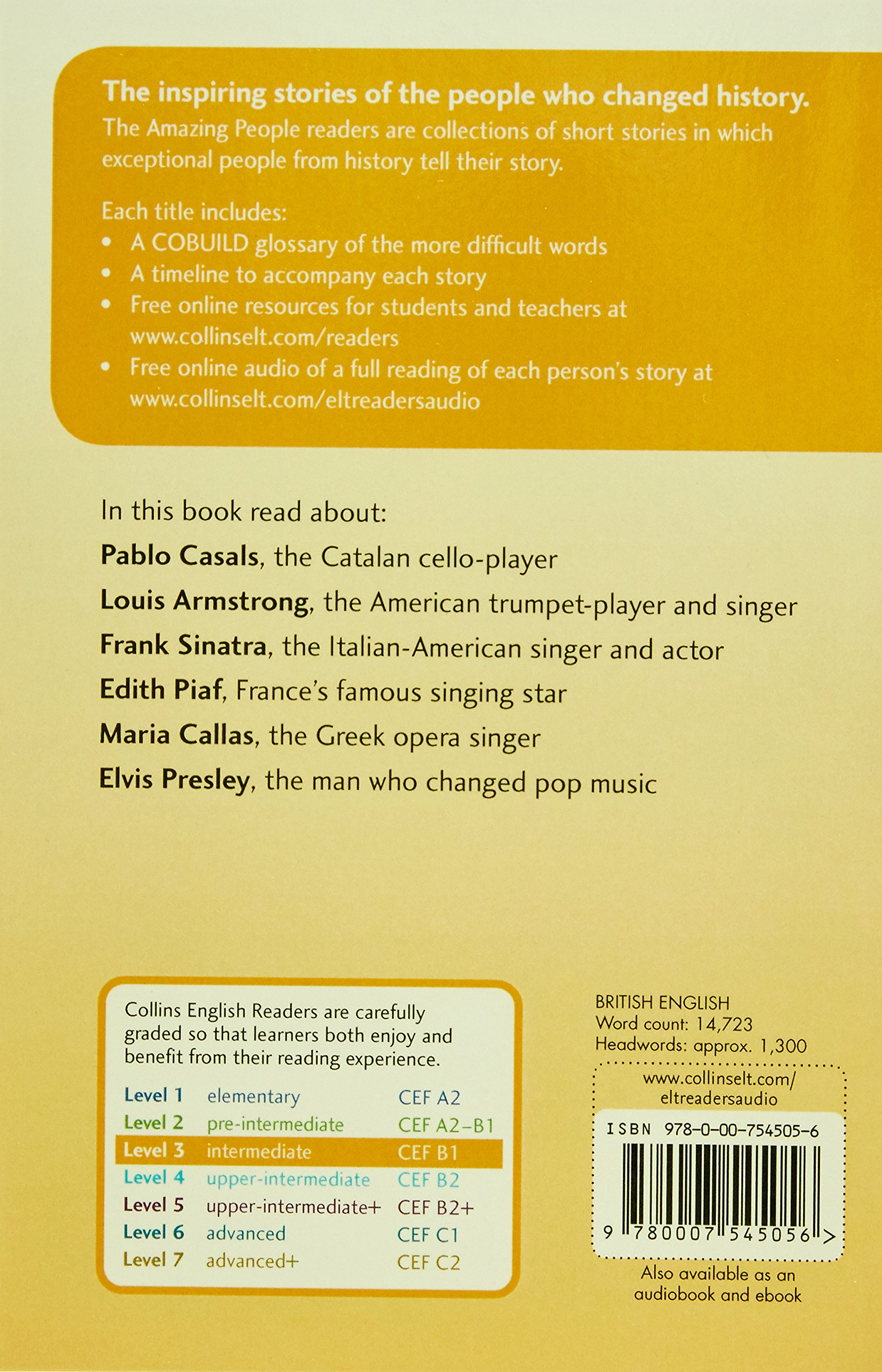 Collins Elt Readers — Amazing Performers (Level 3) (Collins English Readers) by HarperCollins UK