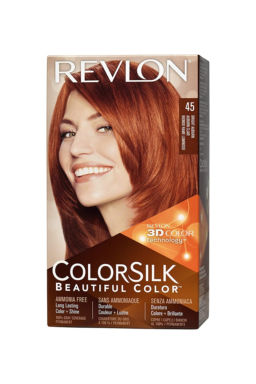 Amazon Revlon Colorsilk Haircolor Bright Auburn 44 Ounces