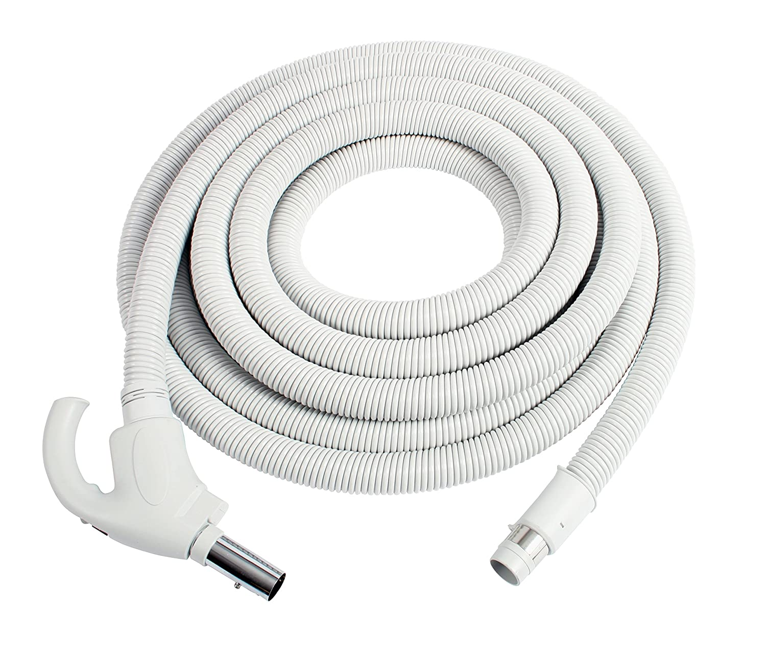 Cen-Tec Systems 93620 Low Voltage Central Vacuum Hose, Light Gray