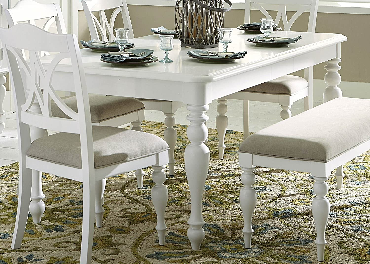 Amazon.com - Liberty Furniture Summer House I Dining Table ...