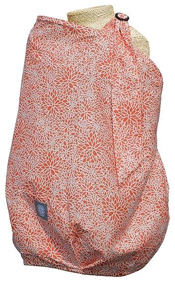 Orange Balboa Baby Nursing Cover Coral Bloom