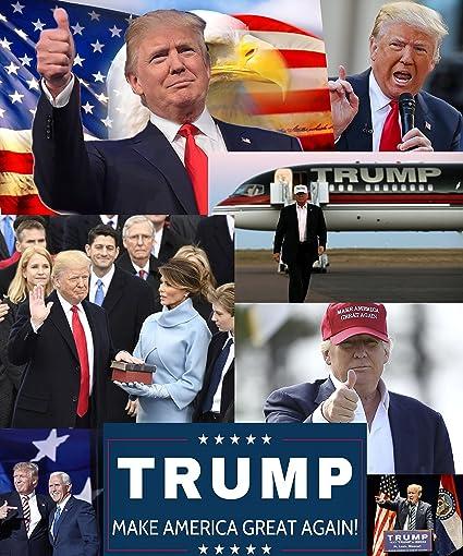 Amazon Com Xxl Poster Collage Donald Trump Poster 20x 24
