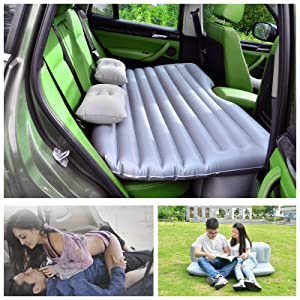 HappyCell Car Travel Inflatable Mattress Air Bed