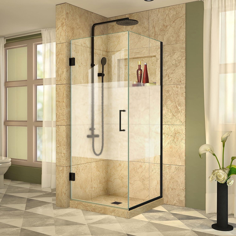 DreamLine shen-24345300 – 01 Unidoor Plus con bisagra mampara de baño: Amazon.es: Bricolaje y herramientas