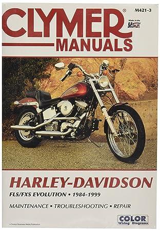 Clymer Softail Repair Manual M4213 on