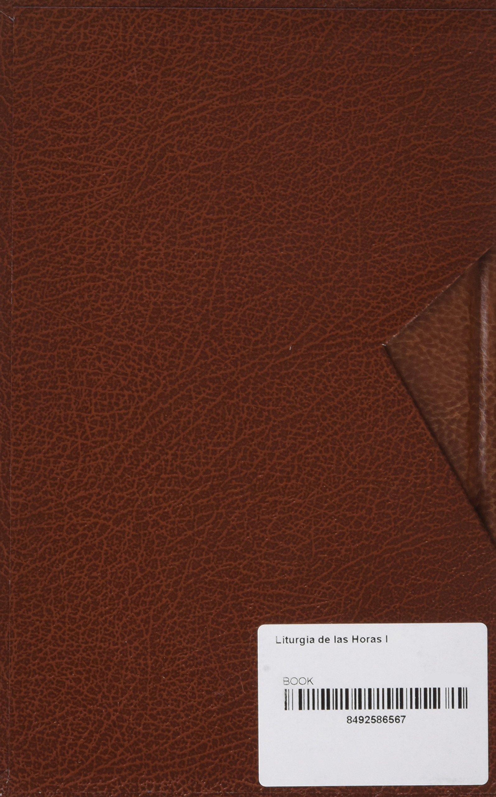 LITURGIA DE LAS HORAS I: Amazon.es: AA.VV.: Libros