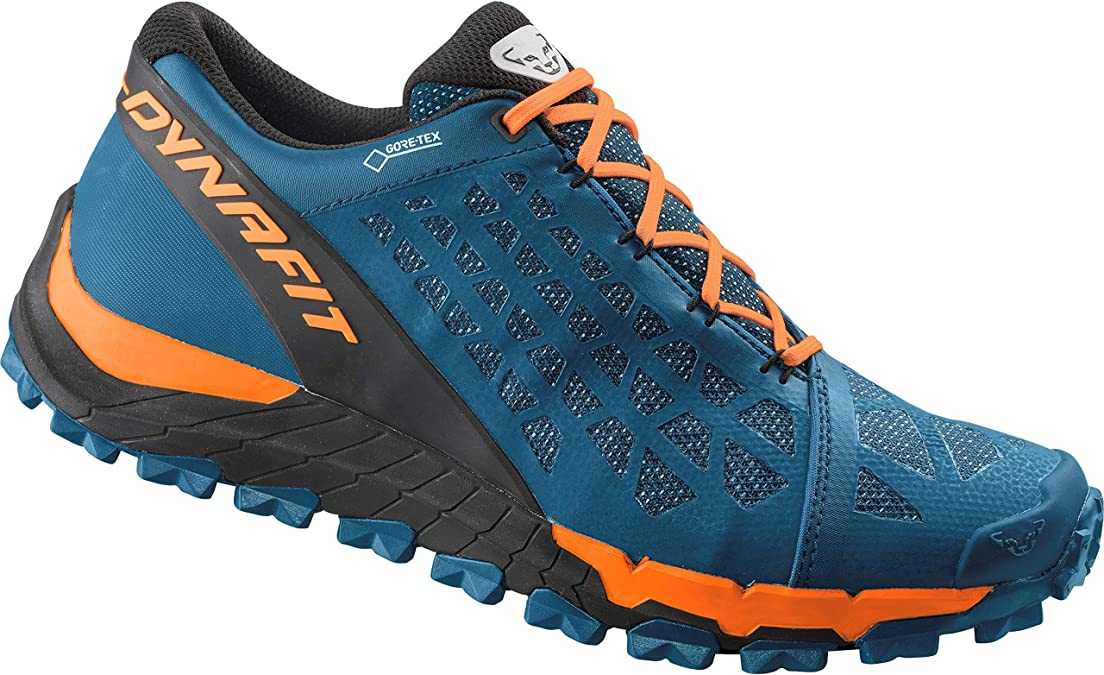 Dynafit Trailbreaker EVO GTX Gore-Tex Mens Trail Running Shoes, Mykonos Blue/Shocking Orange - Azul, 42: Amazon.es: Zapatos y complementos