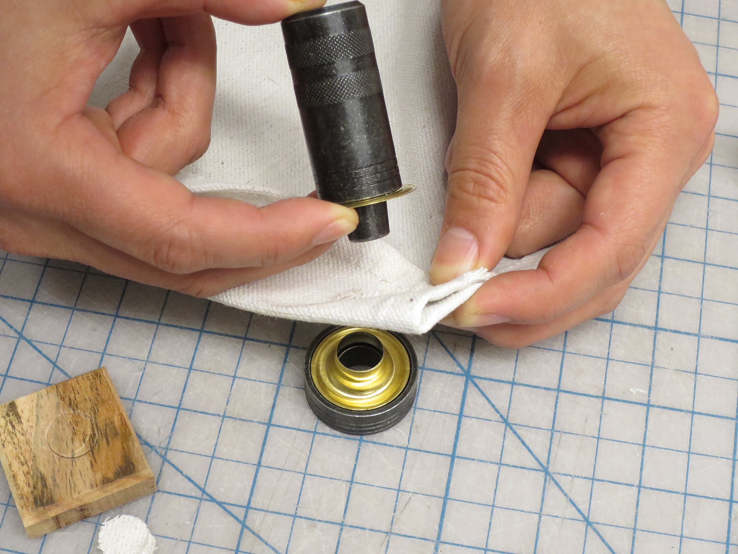 General Tools 71262 Grommet Kit with 24 Rustproof Solid Brass Grommets, 3/8 Inch by General Tools (Image #3)