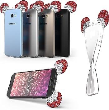 Urcover Samsung Galaxy A5 (2017) Funda Orejas de Ratón Brillante ...
