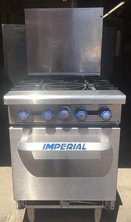 Amazon.com: Imperial Commercial Restaurant Range 24\