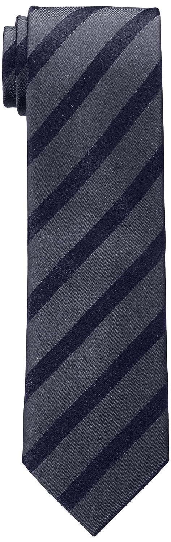 Bugatti Herren Krawatte 6002 R-60001 Gestreift Blau (Blue) bugatti GmbH (Apparel)