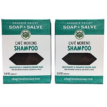 Amazon.com : Organic Natural Shampoo Bar, Café Moreno 2X Pack ...