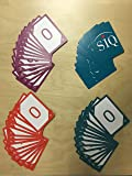 Agile Planning Poker Cards (12 Pack)