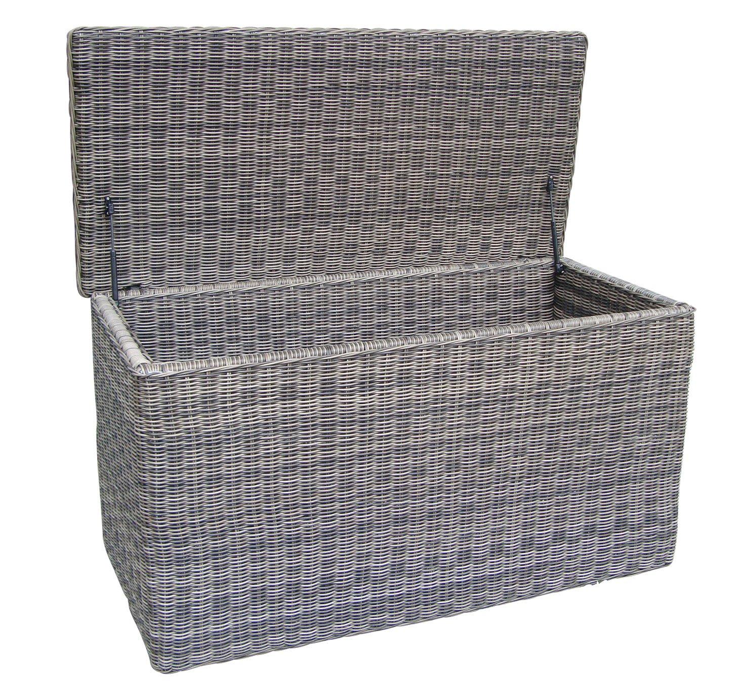 Baidani Gartenmöbel-Sets 10a00023 Designer Kissenbox Ronde, braun ...