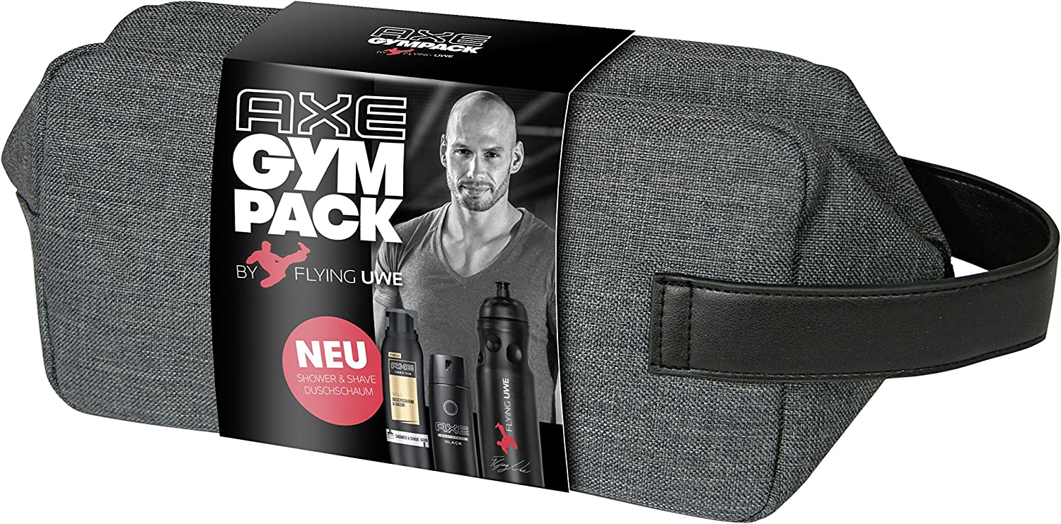 Axe gympack Flying Uwe Firmado Incluye botella (1 x 200 ml, 1 x ...