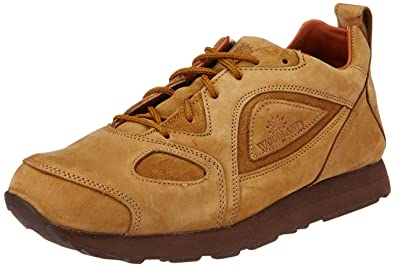 Woodland Men's Camel Leather Shoes - 10 UK