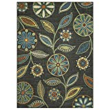 Maples Rugs Reggie Floral Area Rugs for Living Room