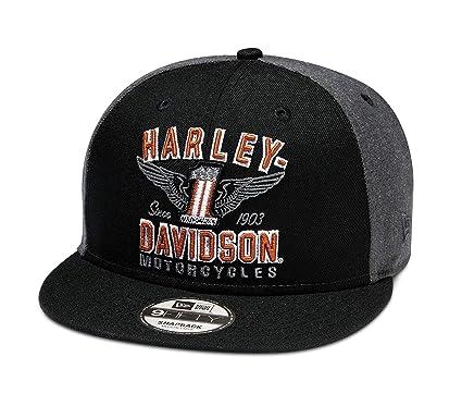 HARLEY-DAVIDSON - Gorra Oficial de los Hombres con alas #1 9FIFTY ...