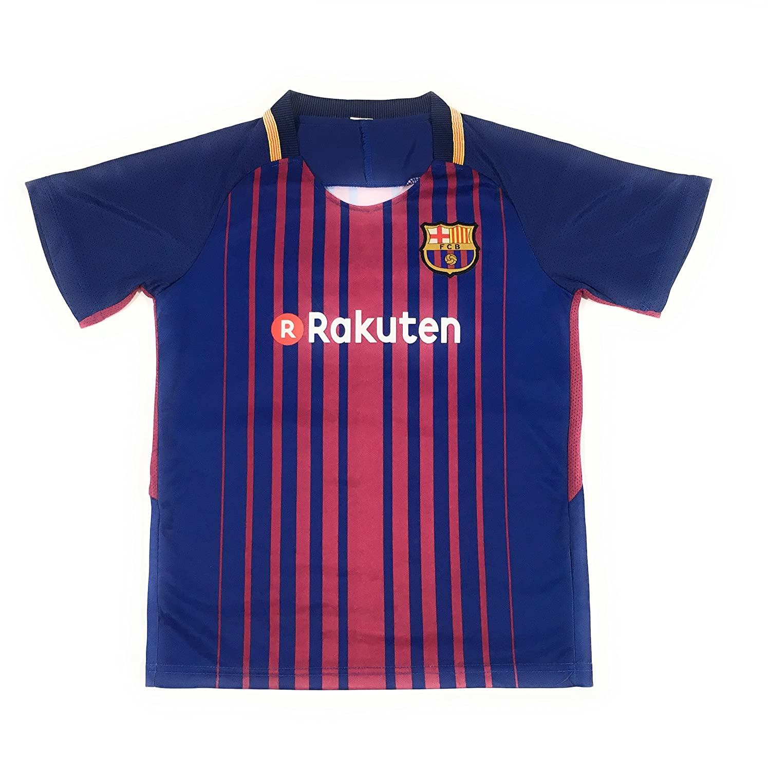 6e85787e5 Amazon.com   Messi  10 2017-2018 NEW FC Barcelona Home Jersey   Shorts for  Kids Youth (6-7 yrs old)   Sports   Outdoors