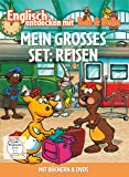 Englisch entdecken mit Ben & Bella - Mein großes Set: Reisen (2 Discs, + Bücher)