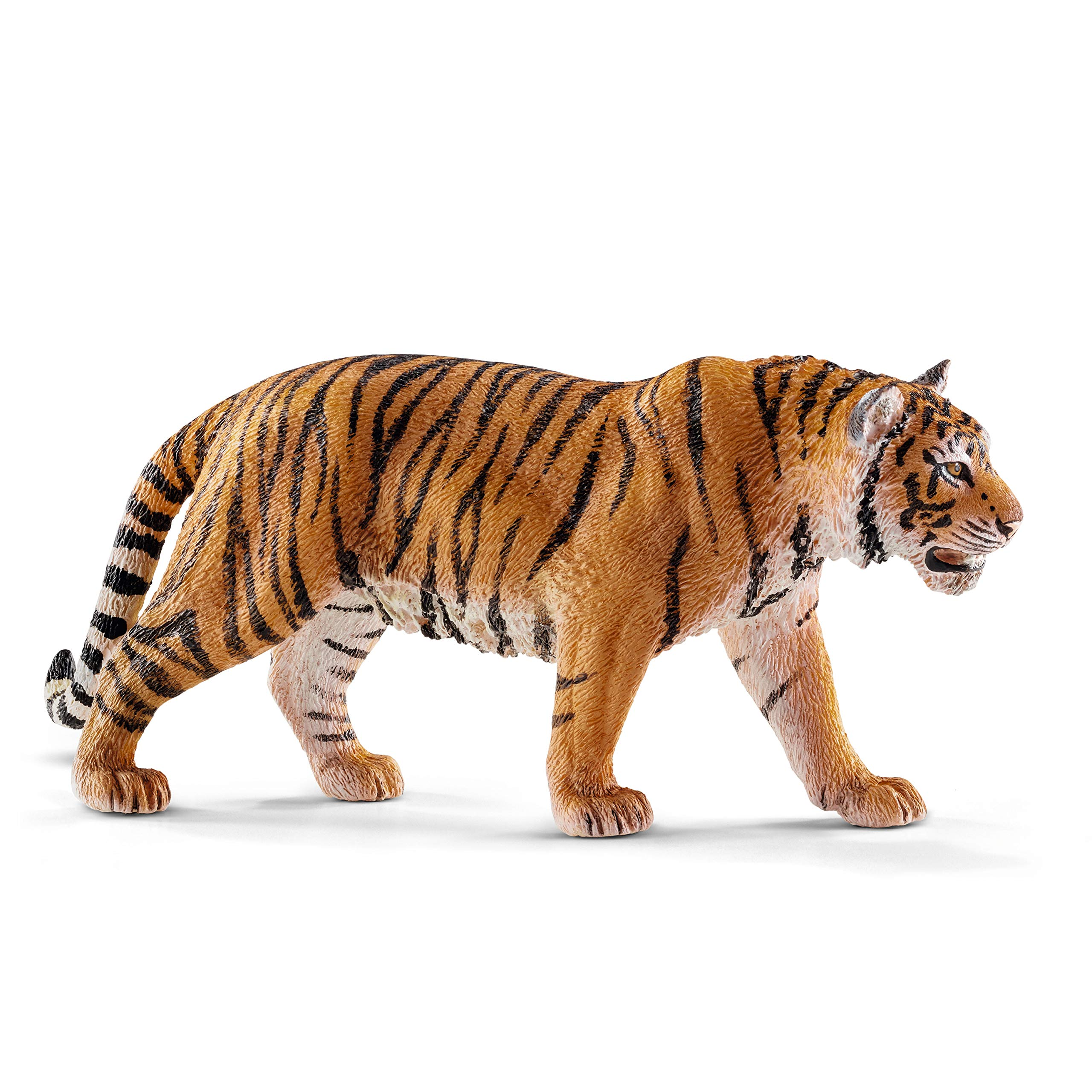 SCHLEICH Wild Life, Animal Figurine, Animal Toys for Boys and Girls 3-8 Years Old, Tiger