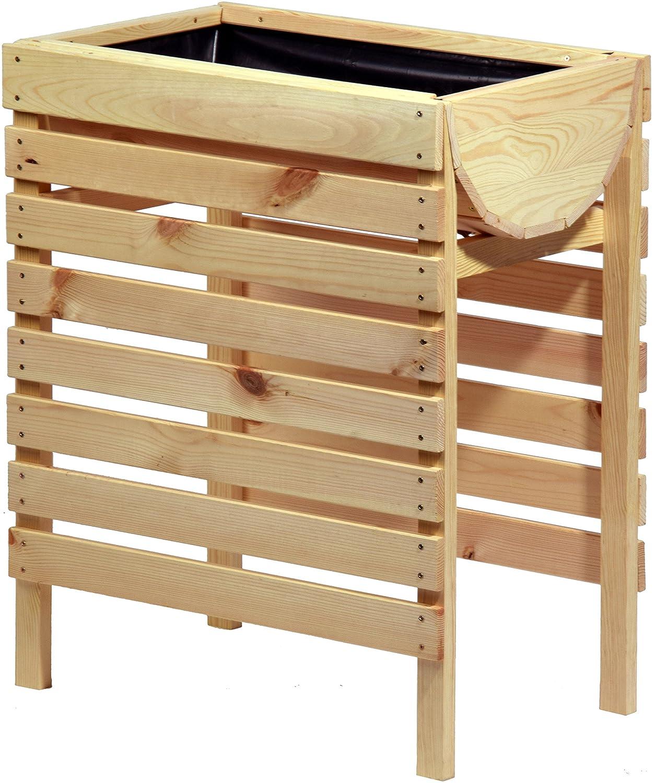 Hochbeet Kräuterbeet Tischbeet Aus Holz Für Balkon, Garten Von ... Gemuse Auf Dem Balkon Hochbeet Garten