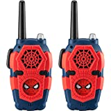 Spiderman FRS Walkie Talkies with Lights and Sounds Kid Friendly Easy to Use