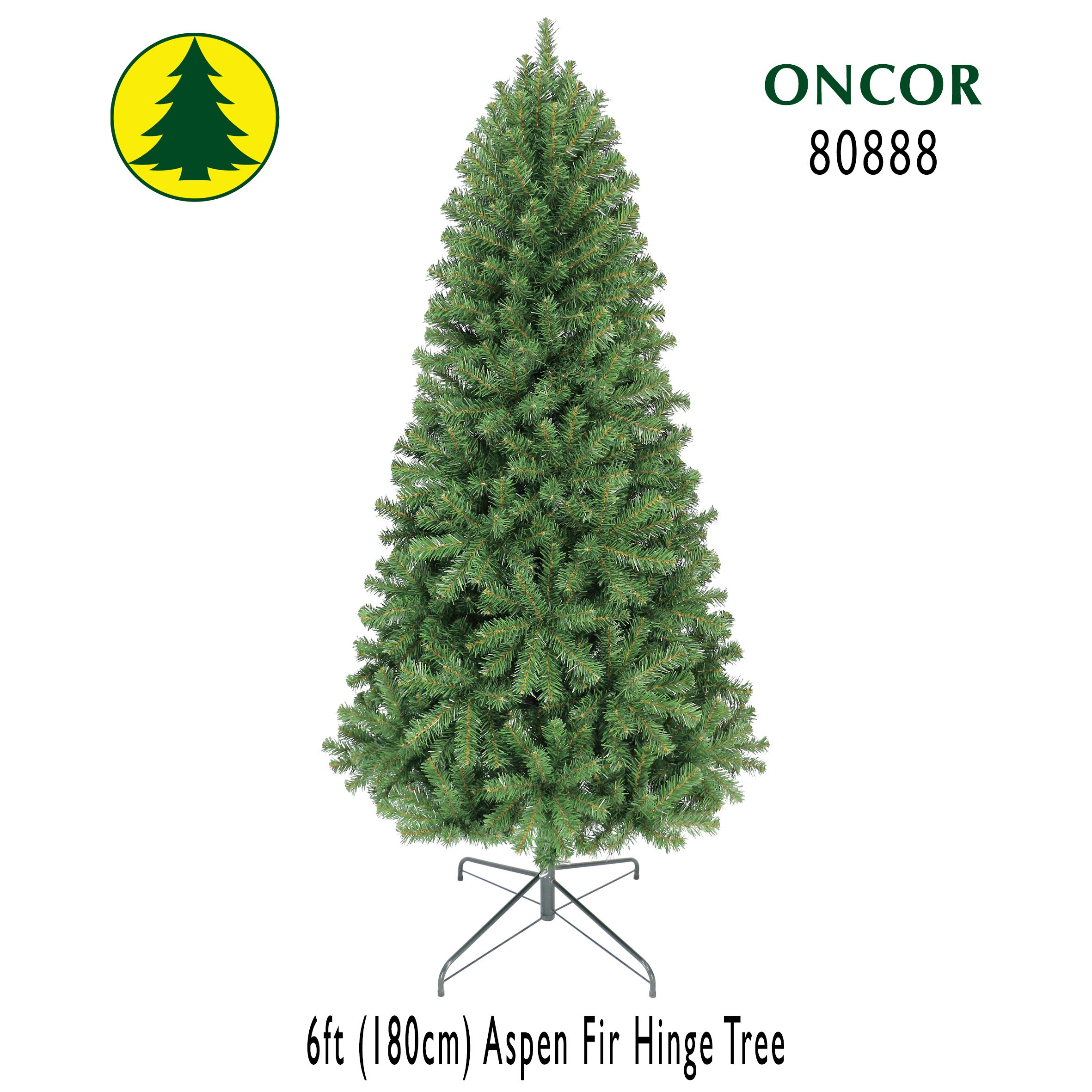 Oncor 6ft Eco-Friendly Aspen Fir Christmas Tree