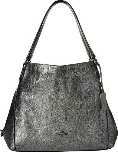 COACH Women's Refined Pebble Leather Edie 31 Shoulder Bag DK ...