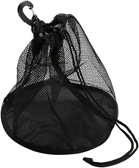 4654477fb Amazon.com : ASICS Individual Ball Bag, Black, One Size : Volleyball  Equipment Bags : Clothing