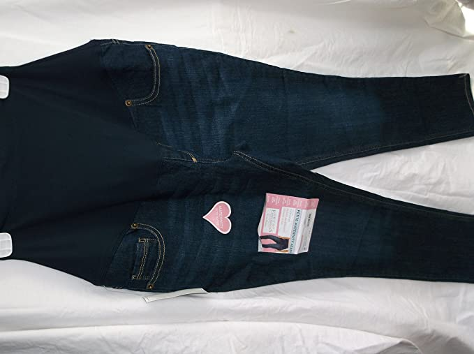 4fafa06a836c9 Great Expectations Maternity Full-Panel Jegging (S/CH (4-6, Denim ...