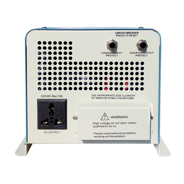 Amazon.com: Edenfashion 2000W Digital Intelligence DC 24V to AC 120V ...
