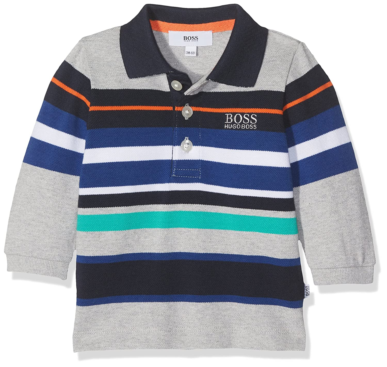 BOSS Baby Boys Polo Manches Longues Shirt