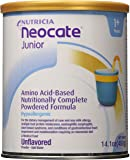 Neocate Junior, Unflavored, 14.1 oz / 400 g (Case of 4 cans )