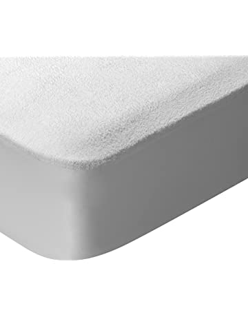 Pikolin Home - Protector de colchón, tejido rizo, algodón, impermeable y transpirable,