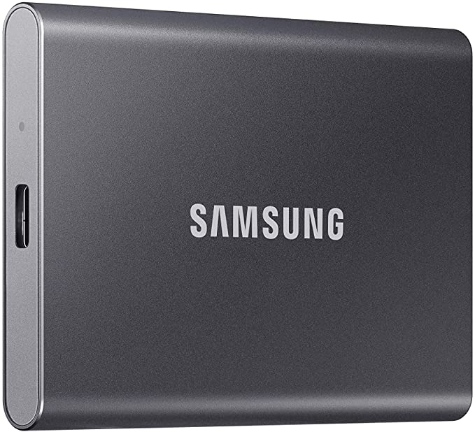 SAMSUNG T7 Portable SSD 500GB  Up to 1050MBs  USB 32 External Solid State Drive Gray MUPC500TAM at Kapruka Online for specialGifts