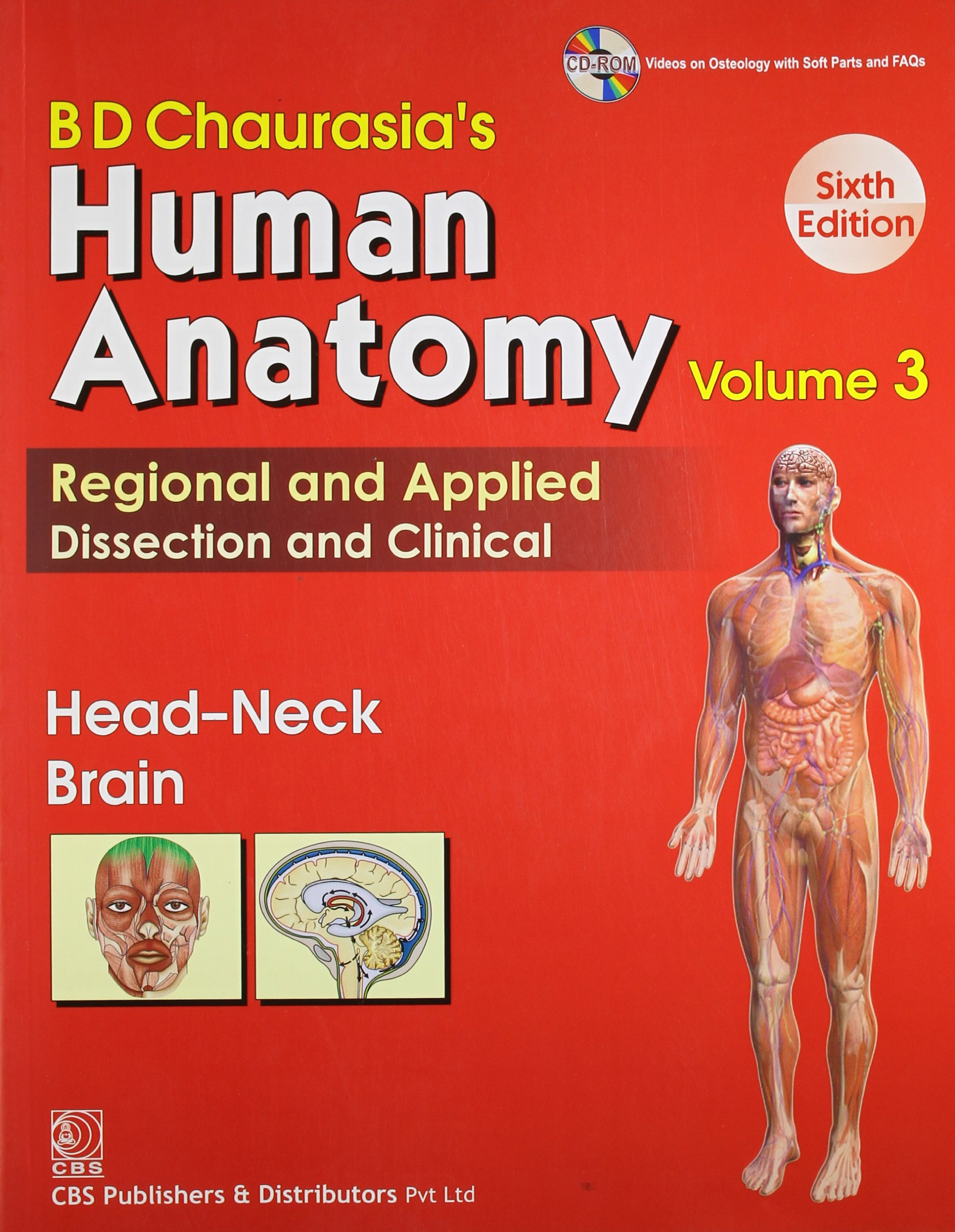 Buy BD Chaurasia\'s Human Anatomy Regional and Applied Dissection and ...