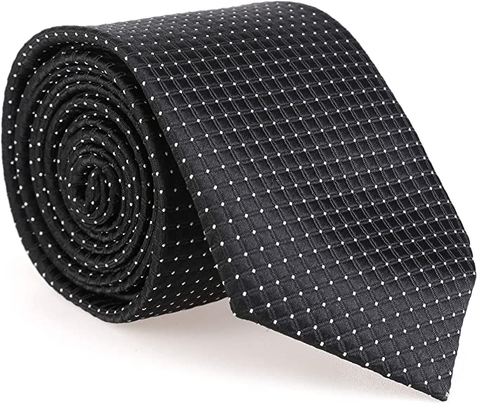 LANSILK Men Business Tie Set - Selección de corbata delgada ...