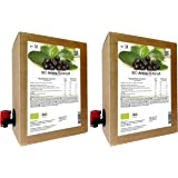 BIO Aronia Muttersaft - 100% Direktsaft 6 Liter (2 x 3 Liter)