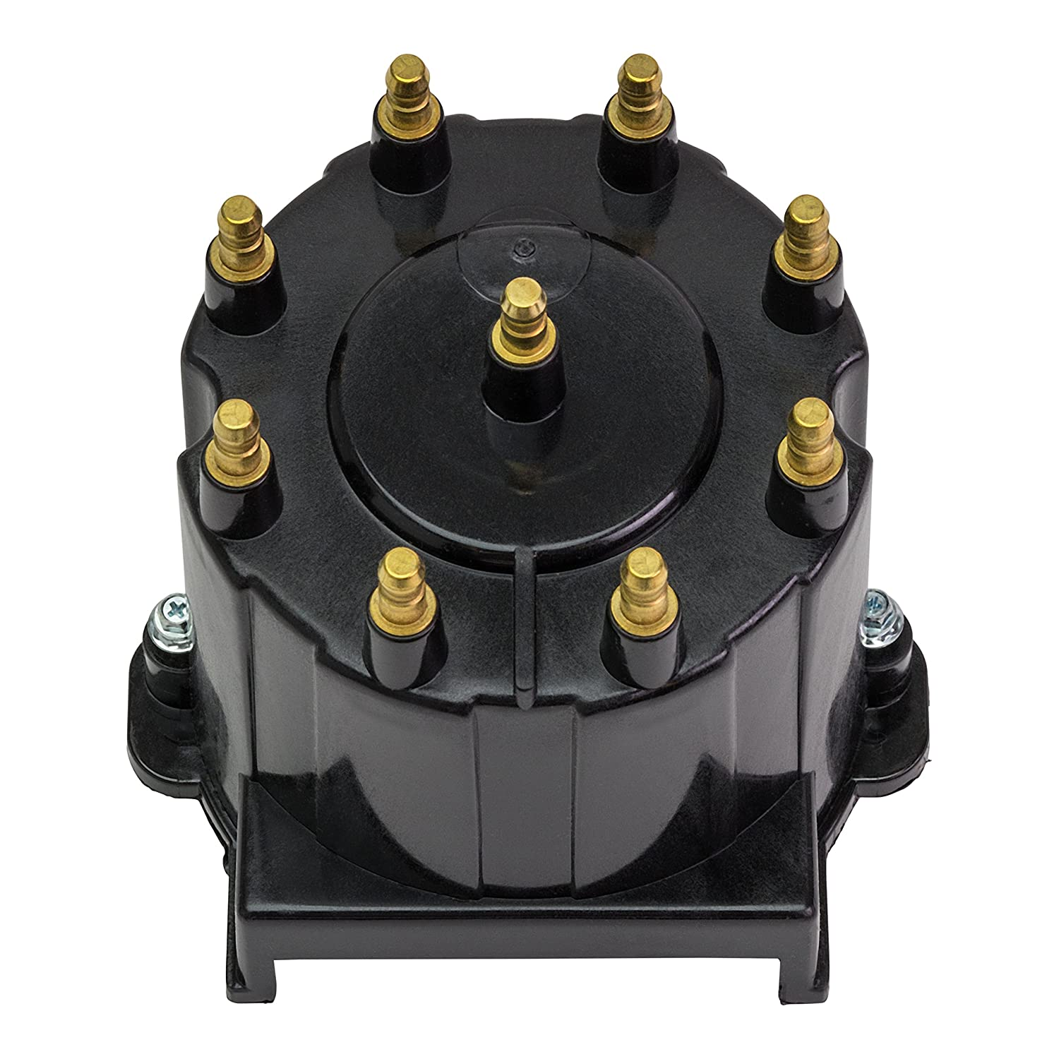 Except MPI Engines with ECM 555 Connections Quicksilver 808483T3 Distributor Cap Kit Marinized V-8 Engines by General Motors with Delco HEI Ignition Systems